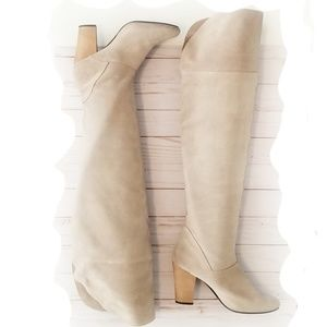 Urban Outfitters Kimchi Blue Tall Suede Boots